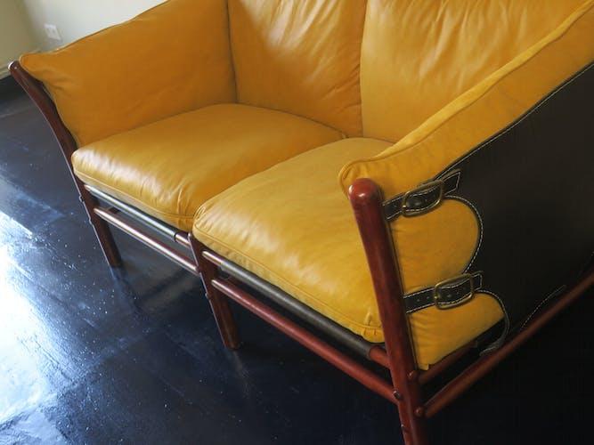Sofa Ilona Leather  par Arne Norell années 1960