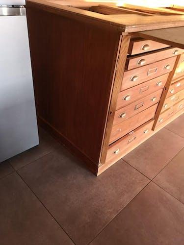 Meuble de métier type grainetier 21 tiroirs