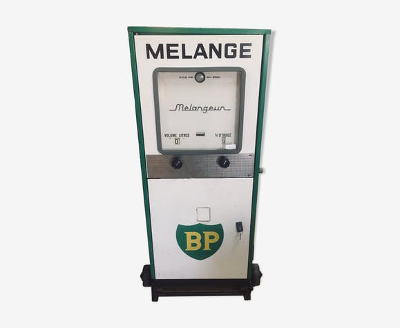 BP gasoline pump blender