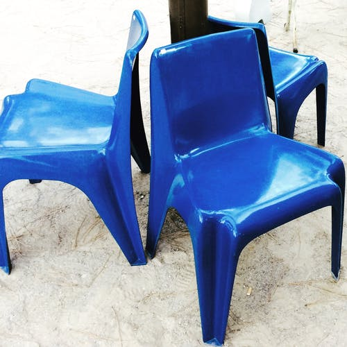 Bofinger blue Chair
