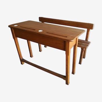 bureau et pupitre enfant vintage d 39 occasion. Black Bedroom Furniture Sets. Home Design Ideas