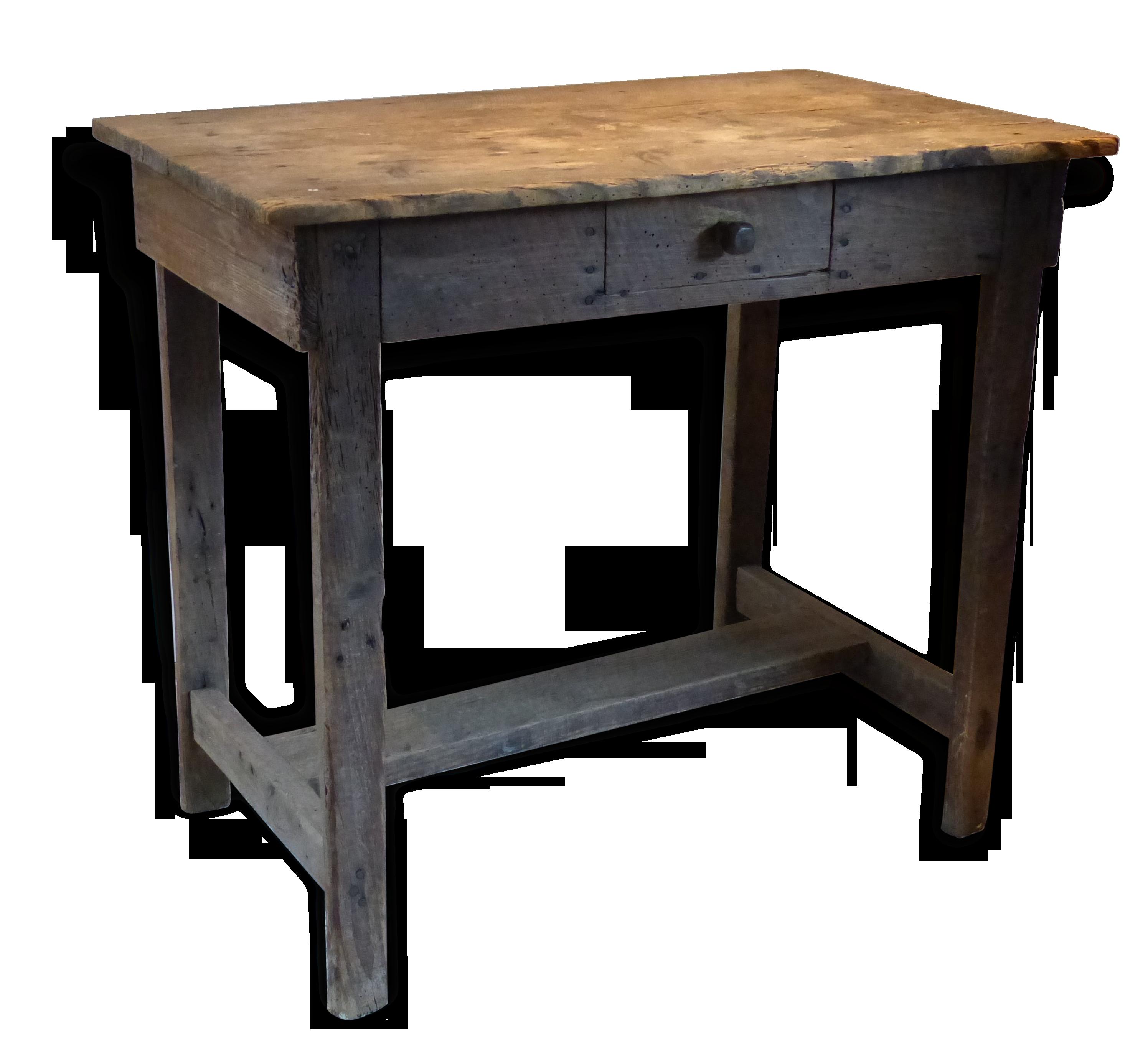Petit bureau pour enfant en bois bois matériau bois couleur
