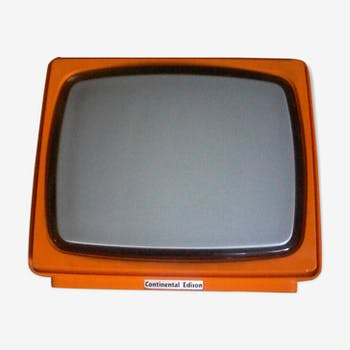 Televiseur vintage de marque Continental Edison