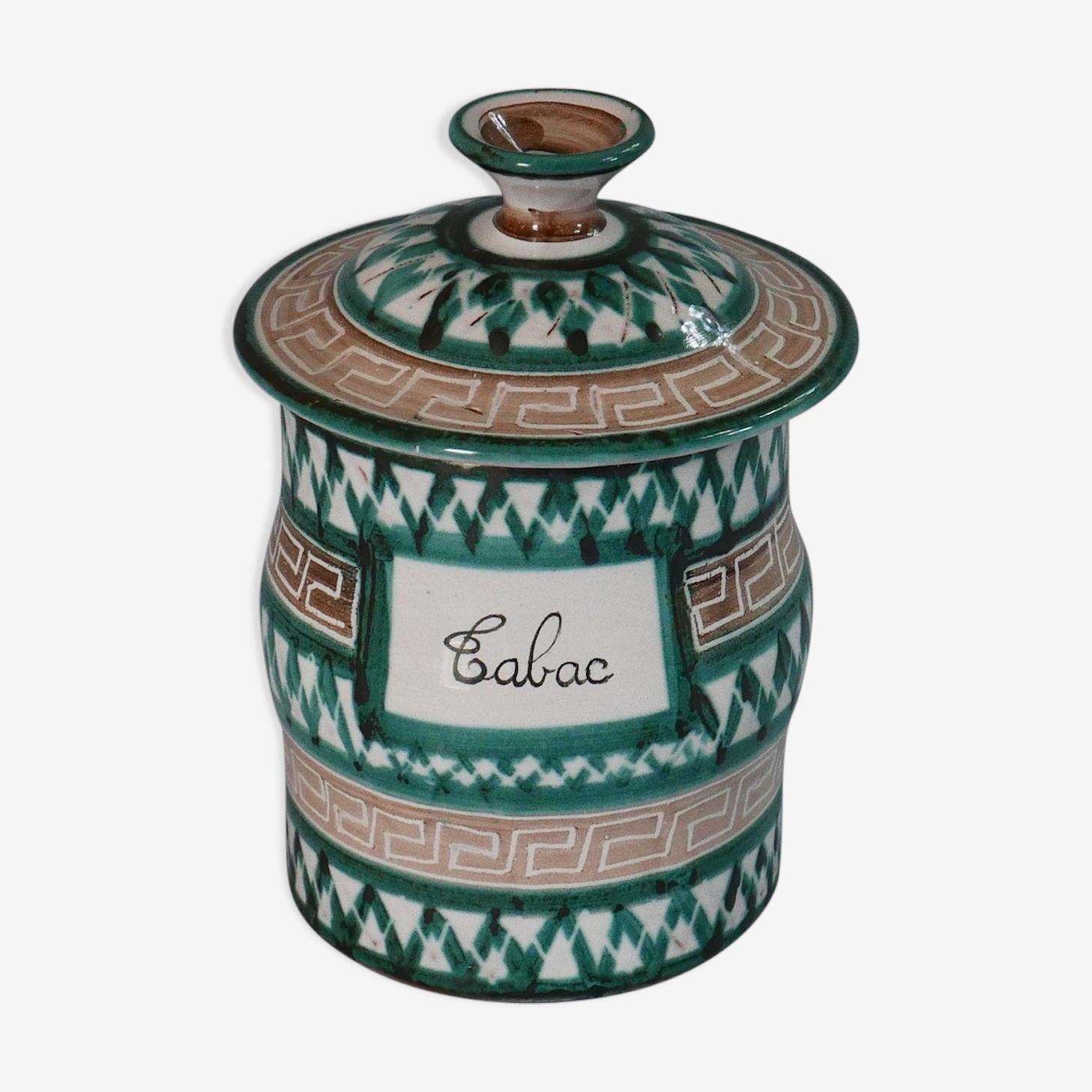 Pot à tabac Vallauris