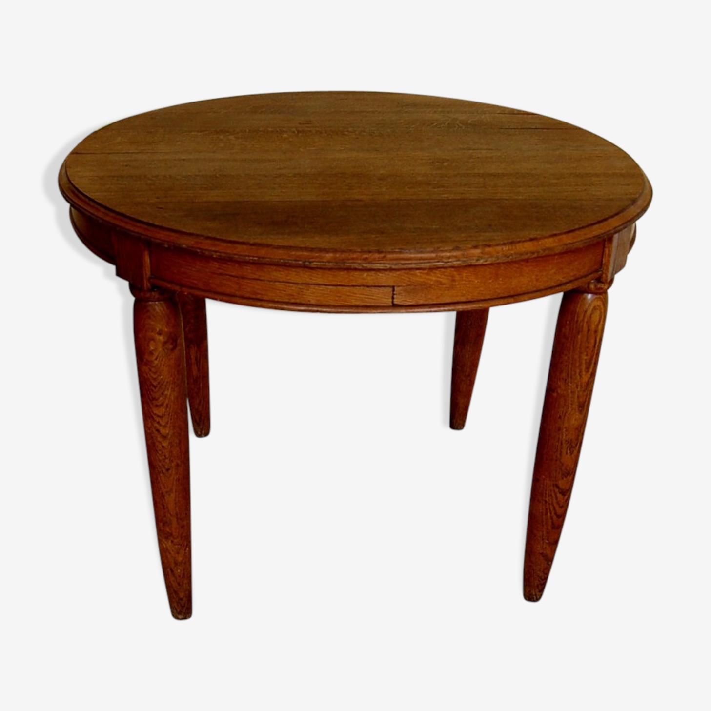 Table oval oak massif