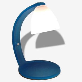 Italian lamp frosted glass