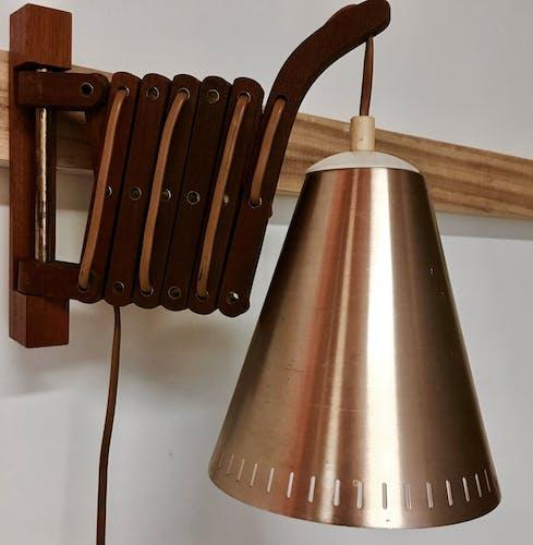 Applique teck Le Klint Design scandinave 1950