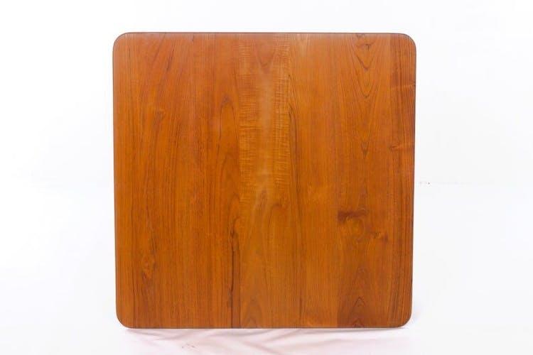 Table basse de Finn Juhl pour France Son, teck solide, vintage, milieu du siècle, Danemark