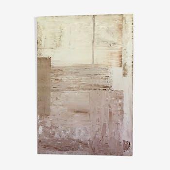 Peinture abstraite «Romy»