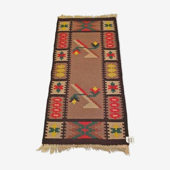 Carpet kilim of years 60-68 x 152 cm