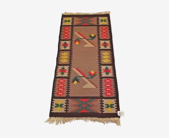 Tapis kilim des années 60 - 68 x 152 cm