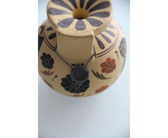 Vase décoratif grec corinthien numéroté