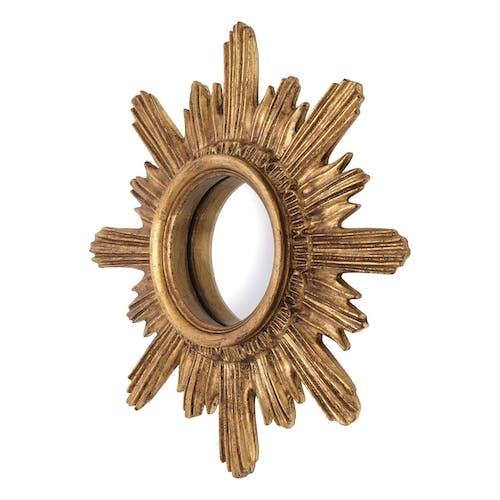 Miroir oeil de sorcière forme soleil diamètre 40cm