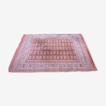 Oriental rug, wool is hand 167 x 234