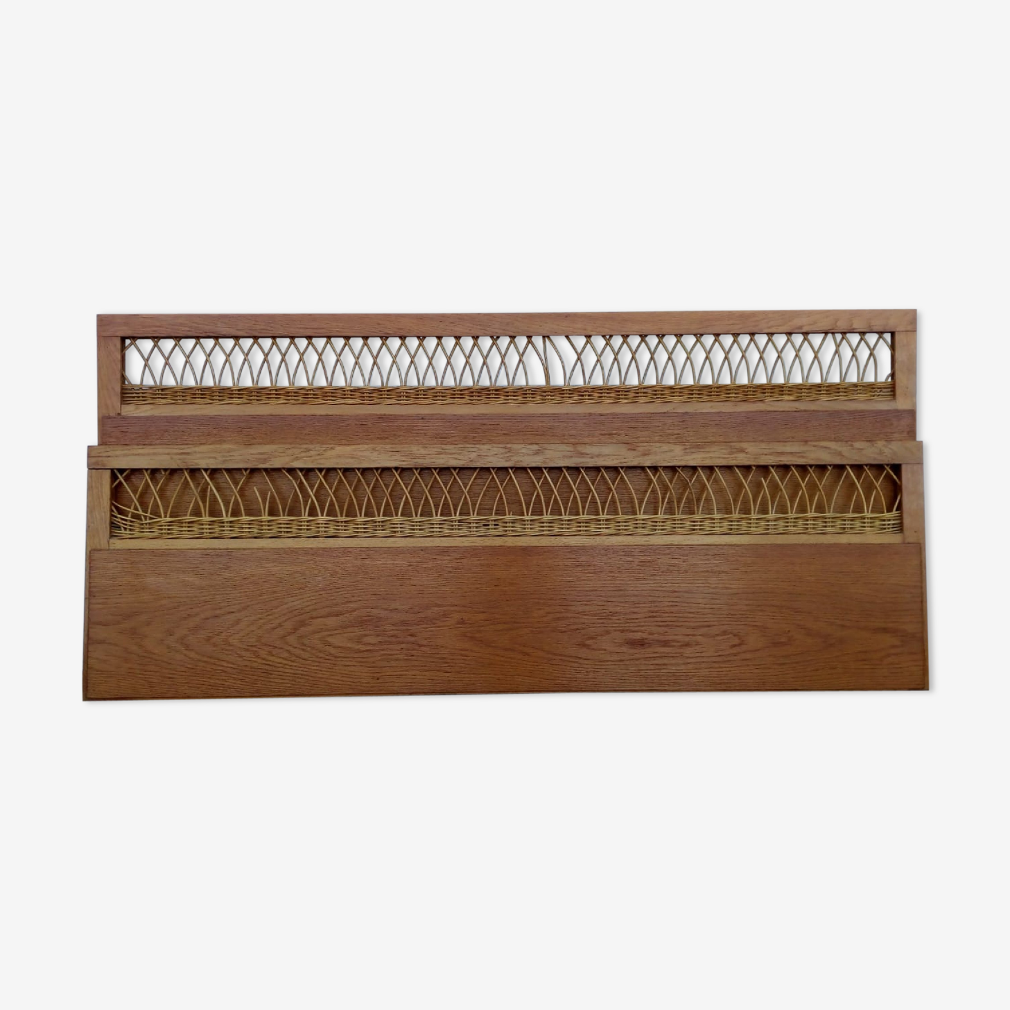 Head and foot of bed rattan