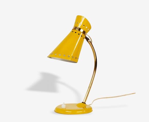 Lampe ou applique diabolo jaune