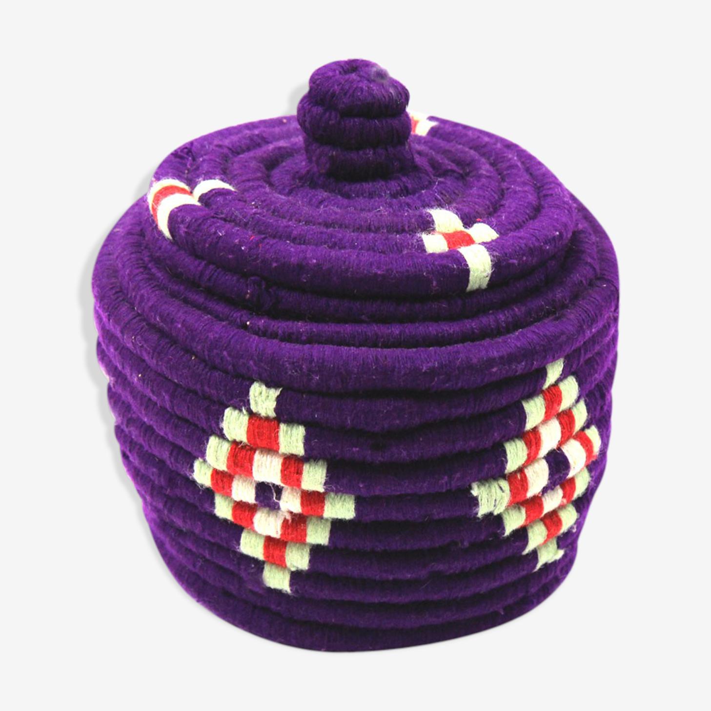 Boîte berbère violette