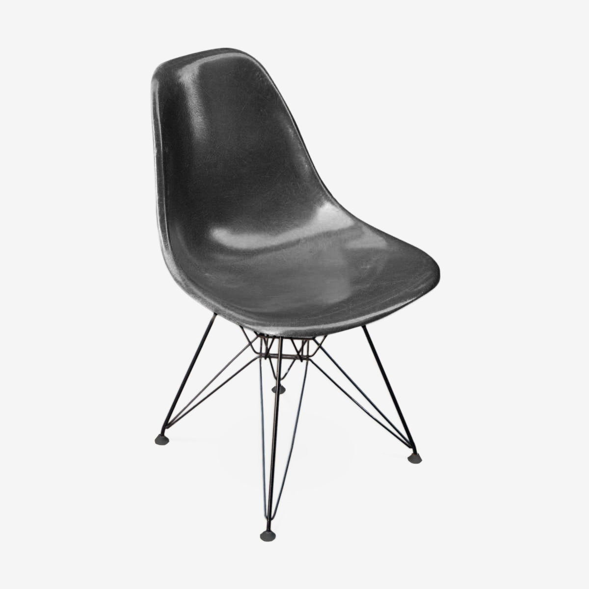 Chair of Charles & Ray Eames Herman Miller foot Eiffel 1960 edition DSR
