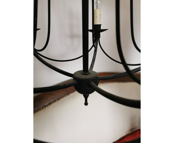 Black candlestick hanging