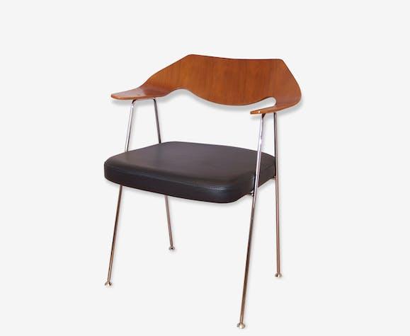 Chaise Avec Accoudoirs Design Des Annees 50 De Robin Day