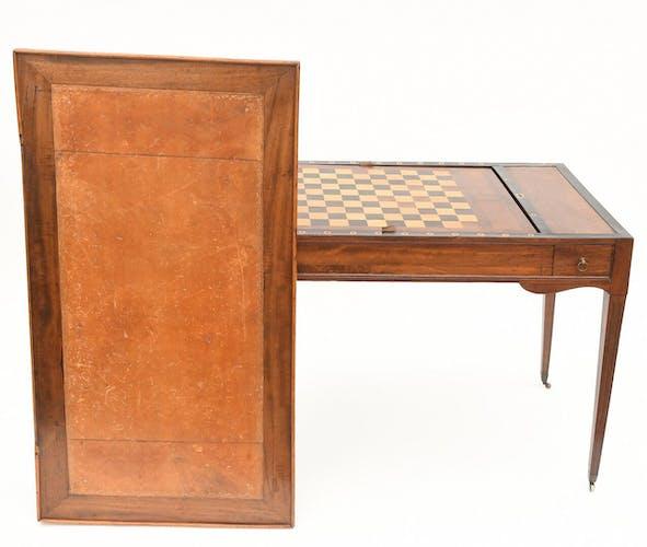 Table à jeu Tric-trac