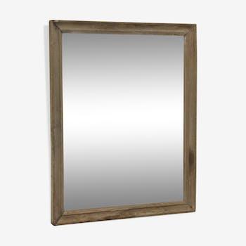 Brown antique mirror 55x70cm
