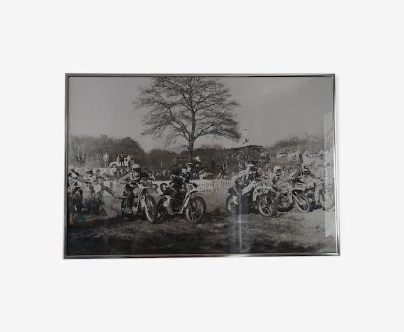 Photographie moto cross 1960