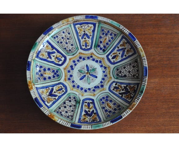 Ethnic dish ceramic