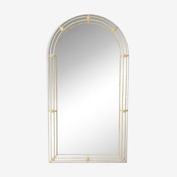 Hollywood regency wall mirror