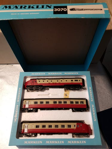 Train Marklin Tee