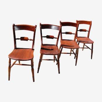 Chaise design industrielle scandinave vintage d 39 occasion - Chaises rustiques d occasion ...