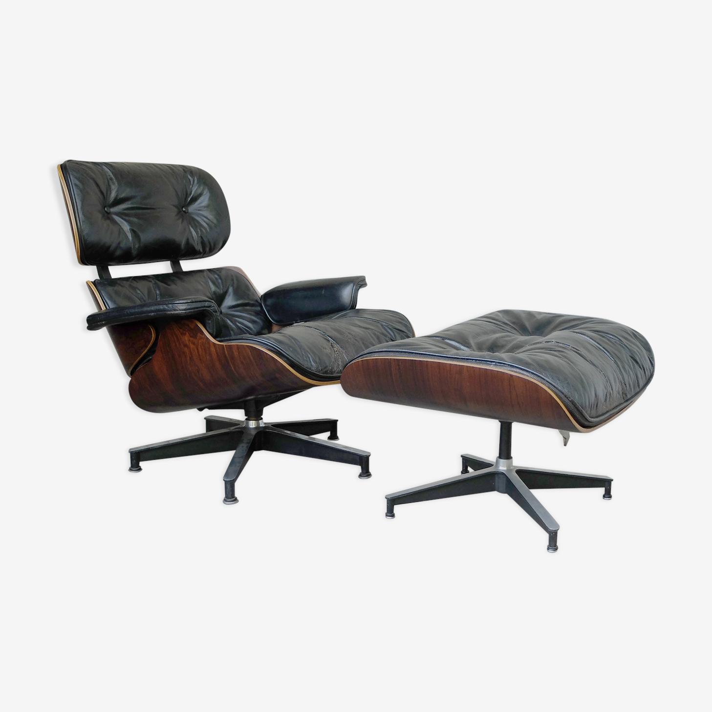 Lounge chair 670 & ottoman 671 Herman Miller Eames