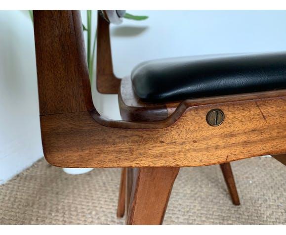 Chaise vintage de Roger Landault