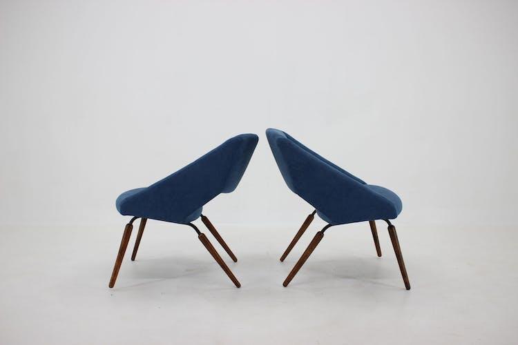 Paire de chaises longues, Tchécoslovaquie 1960