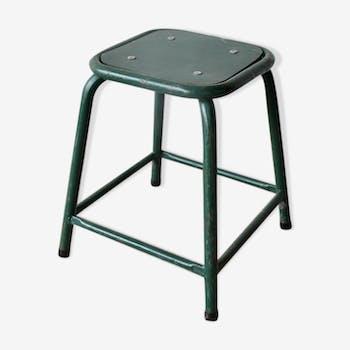 Industrial stool Green