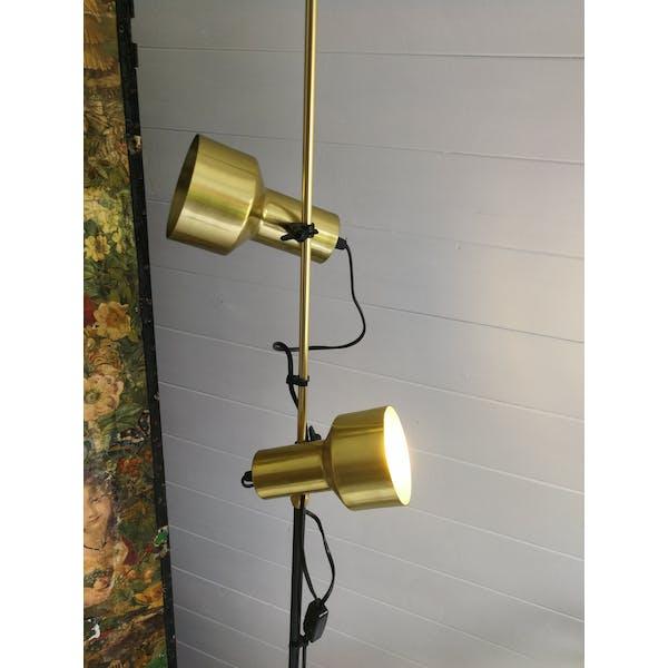 1970s Twin Spotlight Floor Lamp in