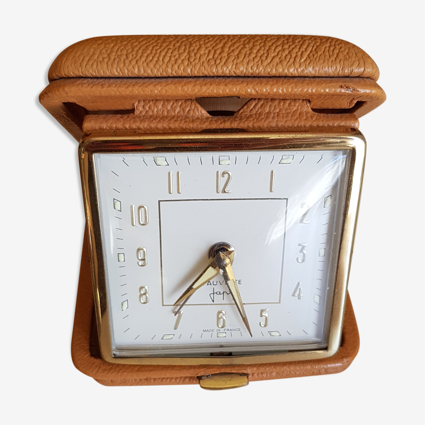 Alarm clock trip former Cadet Japy