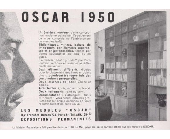 Enfilade Oscar années 50