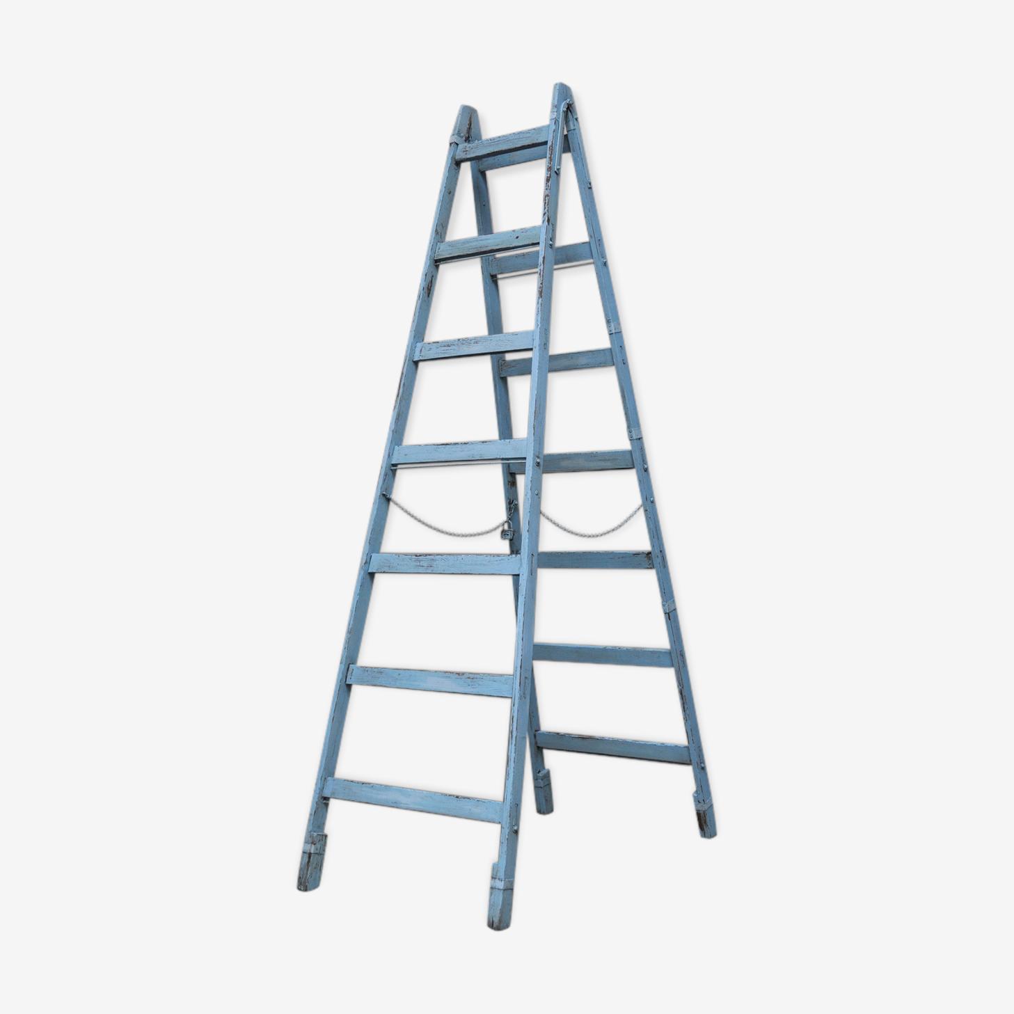 Vintage Ladder in Pine, 1950s