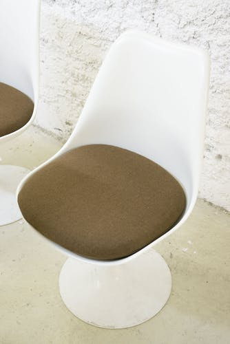 Suite of 6 tulip chairs by Eero Saarinan for Knoll 1970