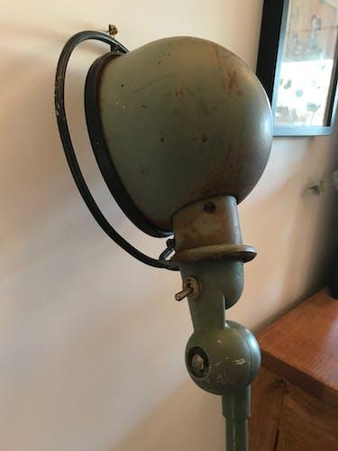 Ancient Jielde articulated industrial lamp