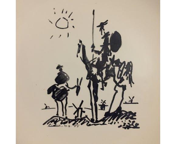 Assiette de collection : Picasso
