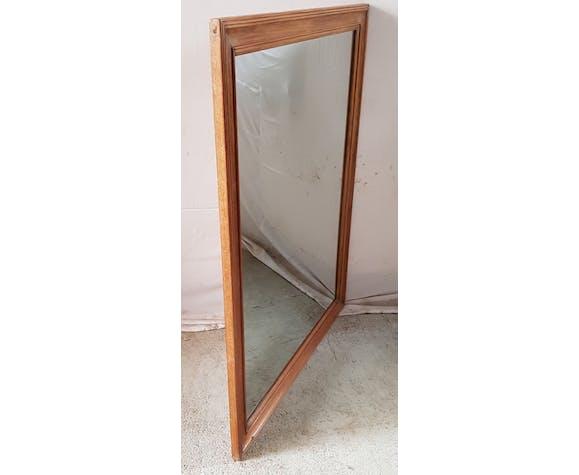 Ancien miroir avec accroche - 116x91cm