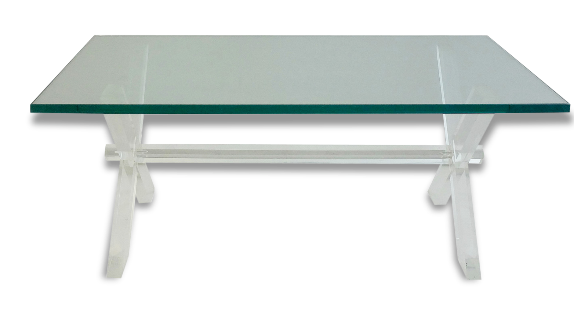 table-basse-plexiglas-et-verre_original Incroyable De Table Basse Gigogne Conforama