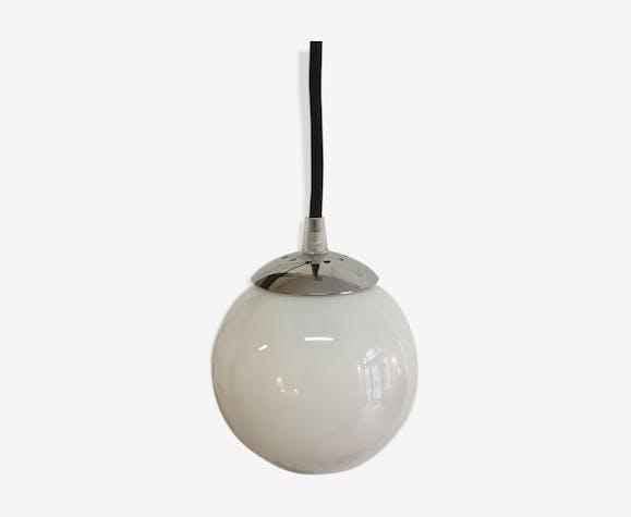 Applique baladeuse globe blanc
