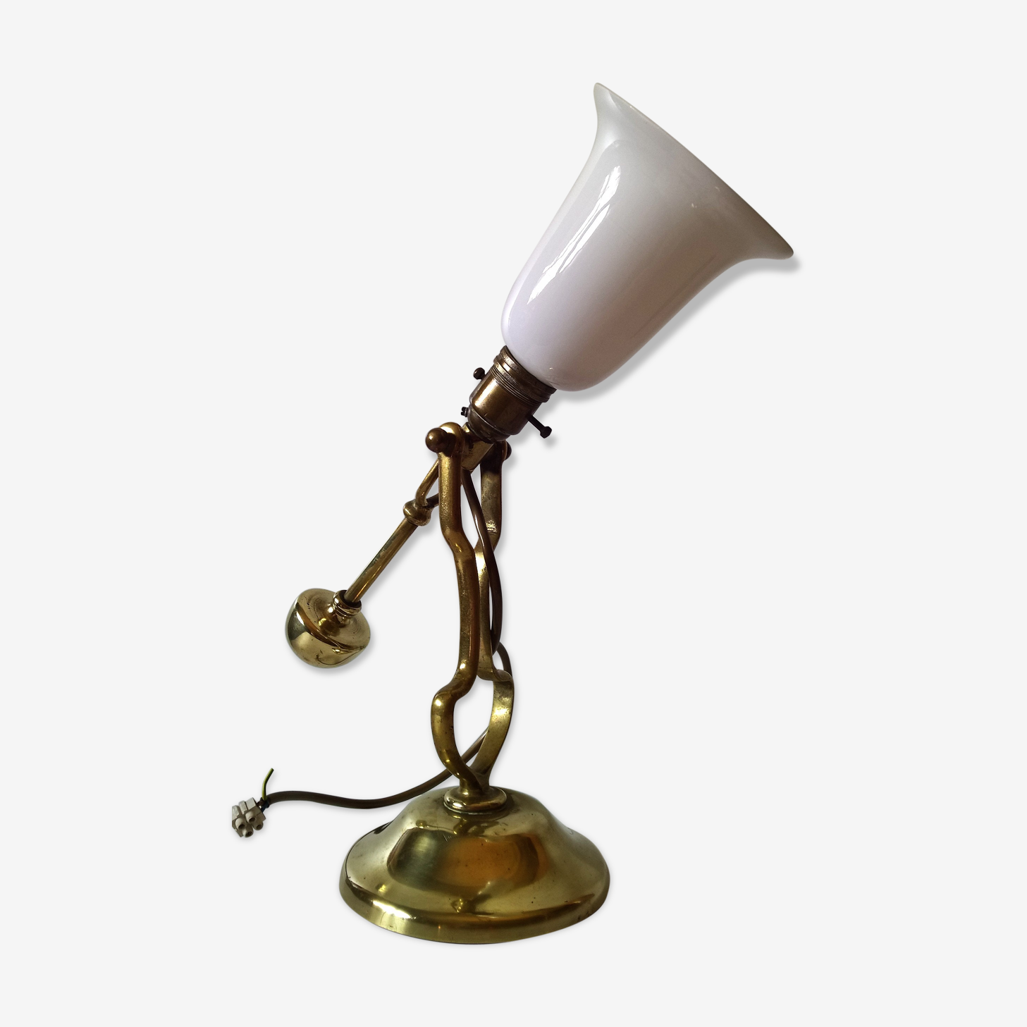 Lampe Ancienne De Marine Bateau Paquebot A Balancier Maritime