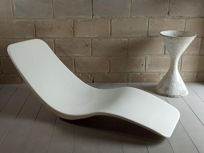 "Chaise longue ""Eurolax"" de Charles Zublena 1965"
