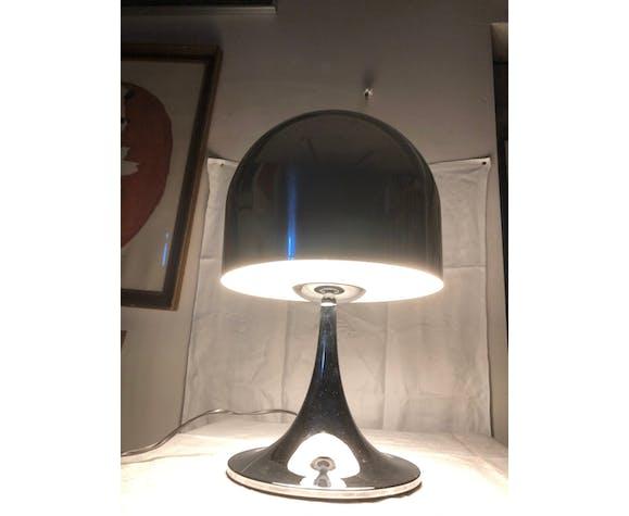 Lampe champignon chromée des années 70