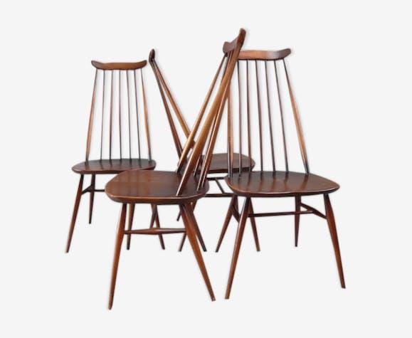 4 chaises de Lucian Ercolani pour Ercol