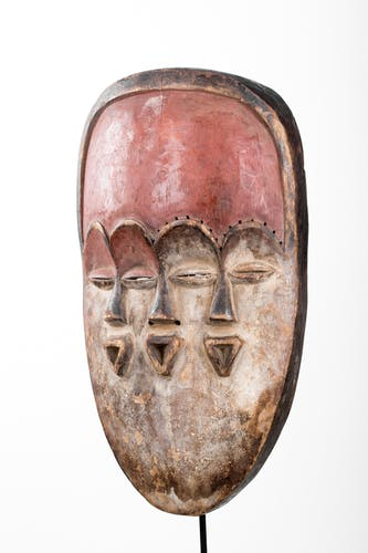 Masque du Bwiti Vuvi Art Africain du Gabon